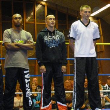 Gala de Full-contact Suisse-Irlande du 1.10.2011 au Pavillon des sports