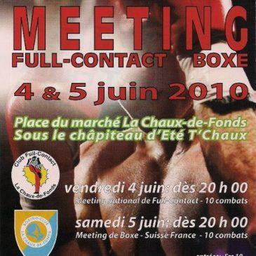 Meeting de Full-Contact et Boxe du 4 et 5 juin 2010