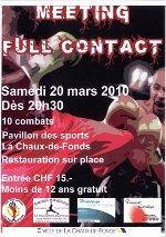 Meeting de Full Contact samedi 20 mars 2010
